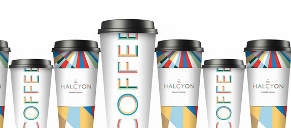 The Halcyon Logo and Identity