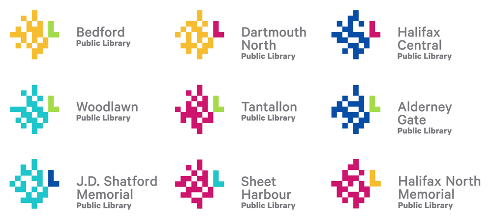 New Logo and Identity for Halifax Public Libraries by Breakhouse