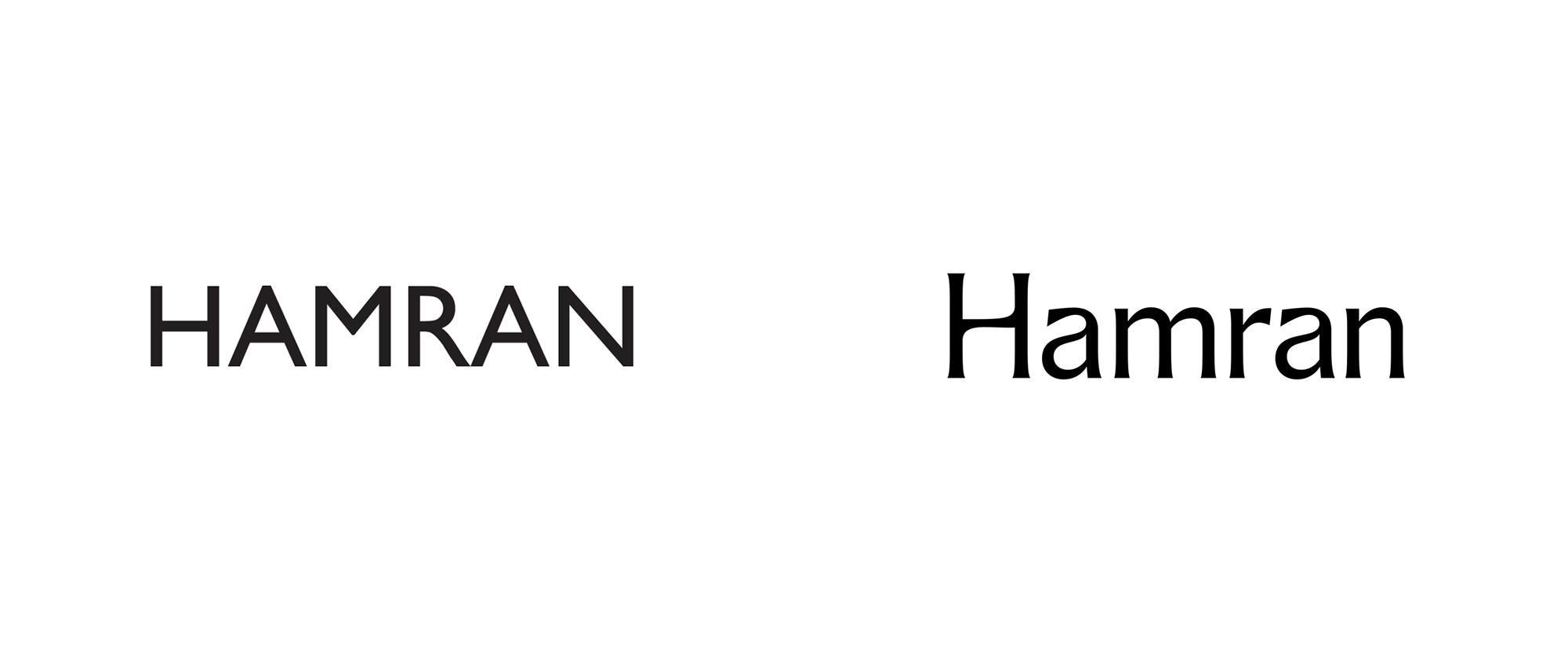 New Logo and Identity for Hamran by Studio Oker