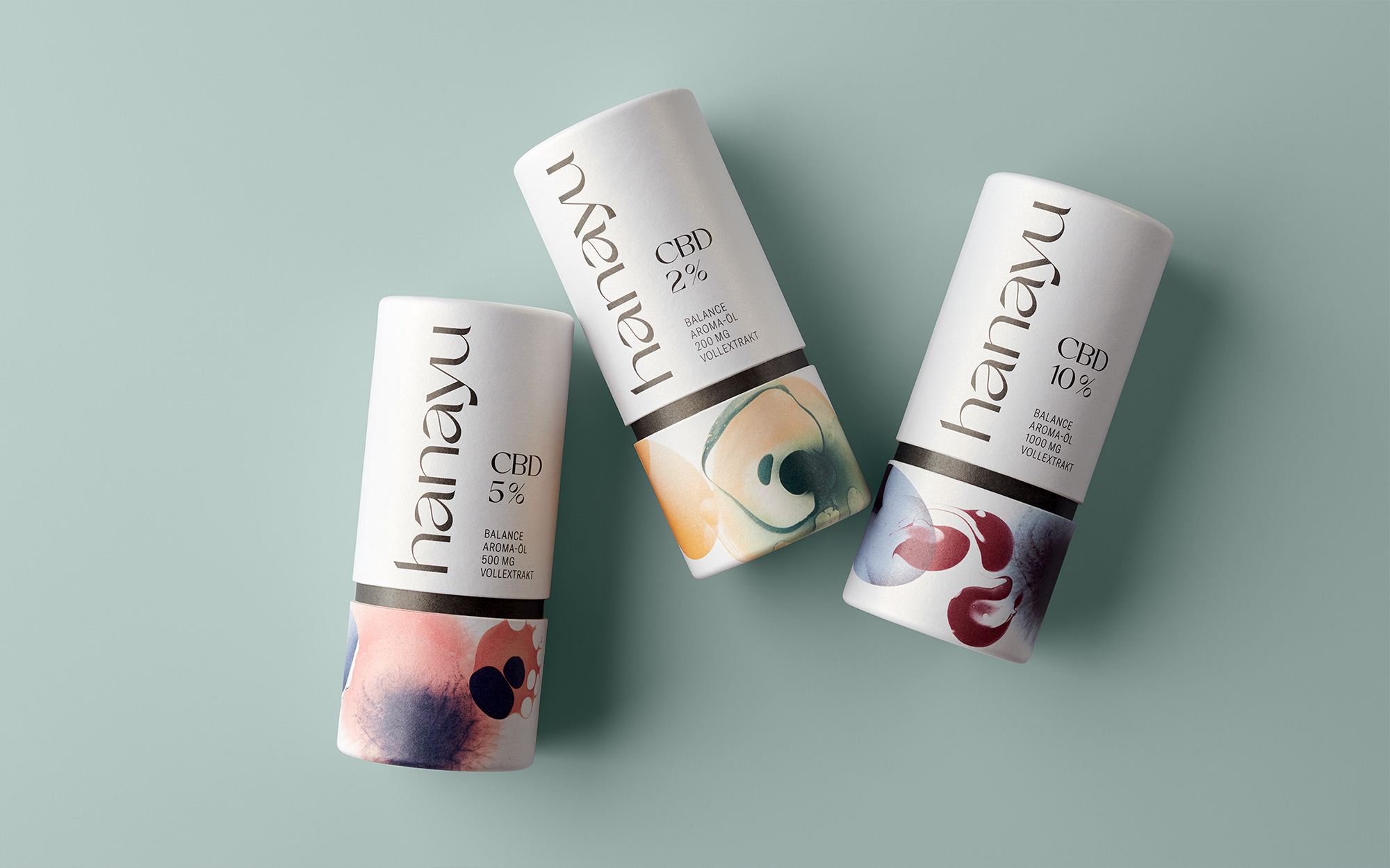 New Logo and Packaging for Hanayu by EIGA
