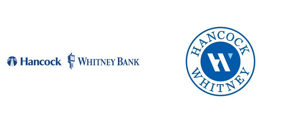 New Logo for Hancock Whitney Bank
