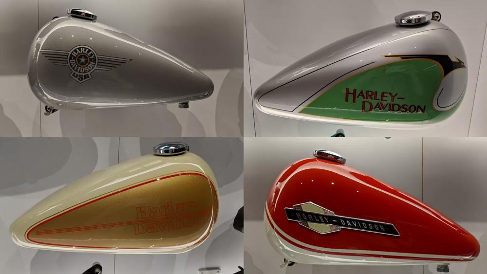 Harley-Davidson Gas Tanks