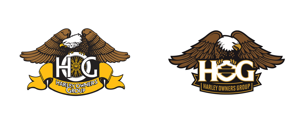New Logo for Harley Owners Group by GS Design
