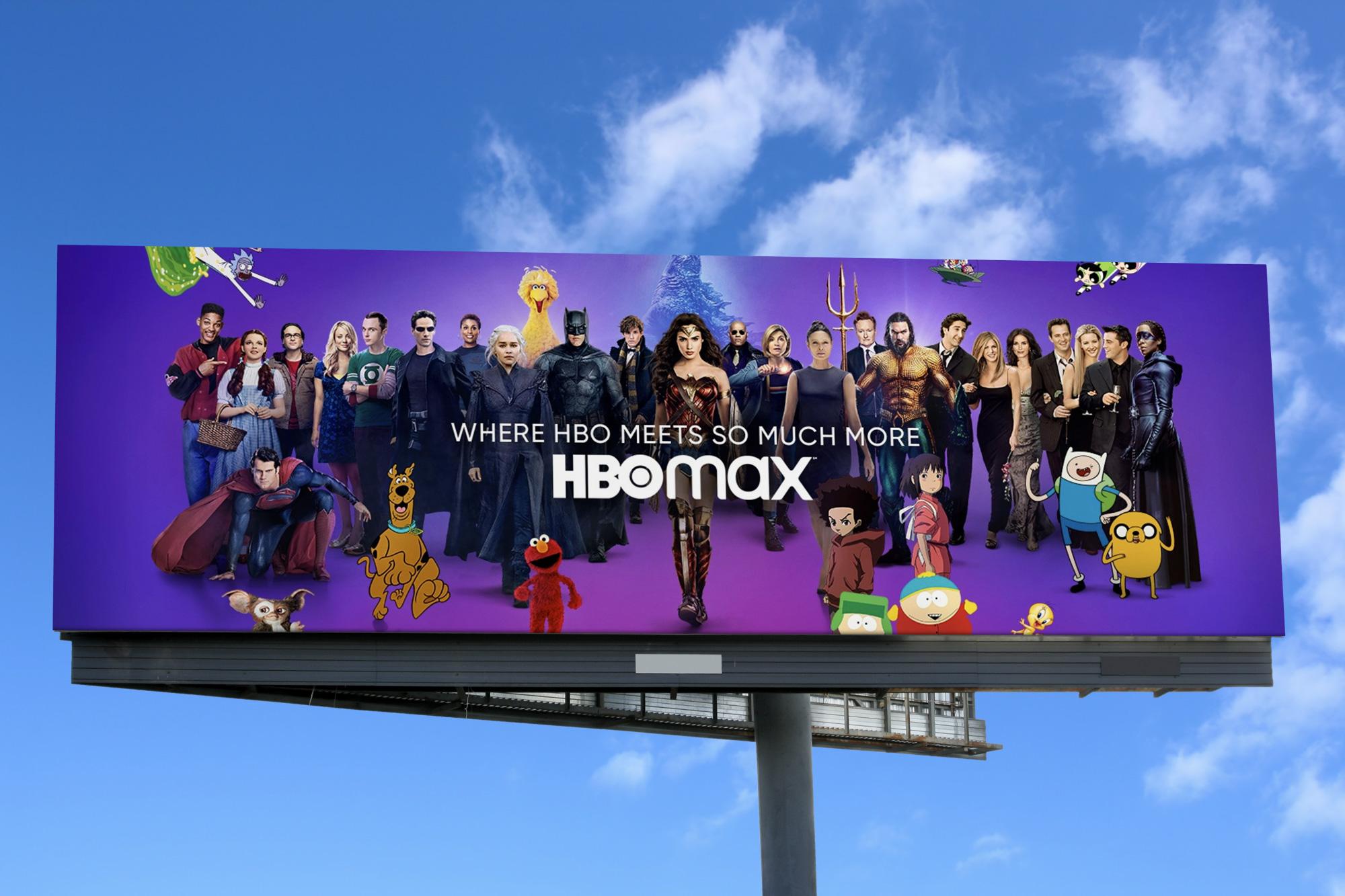 Theo dõi: Logo mới cho HBO Max của Trollbäck + Company