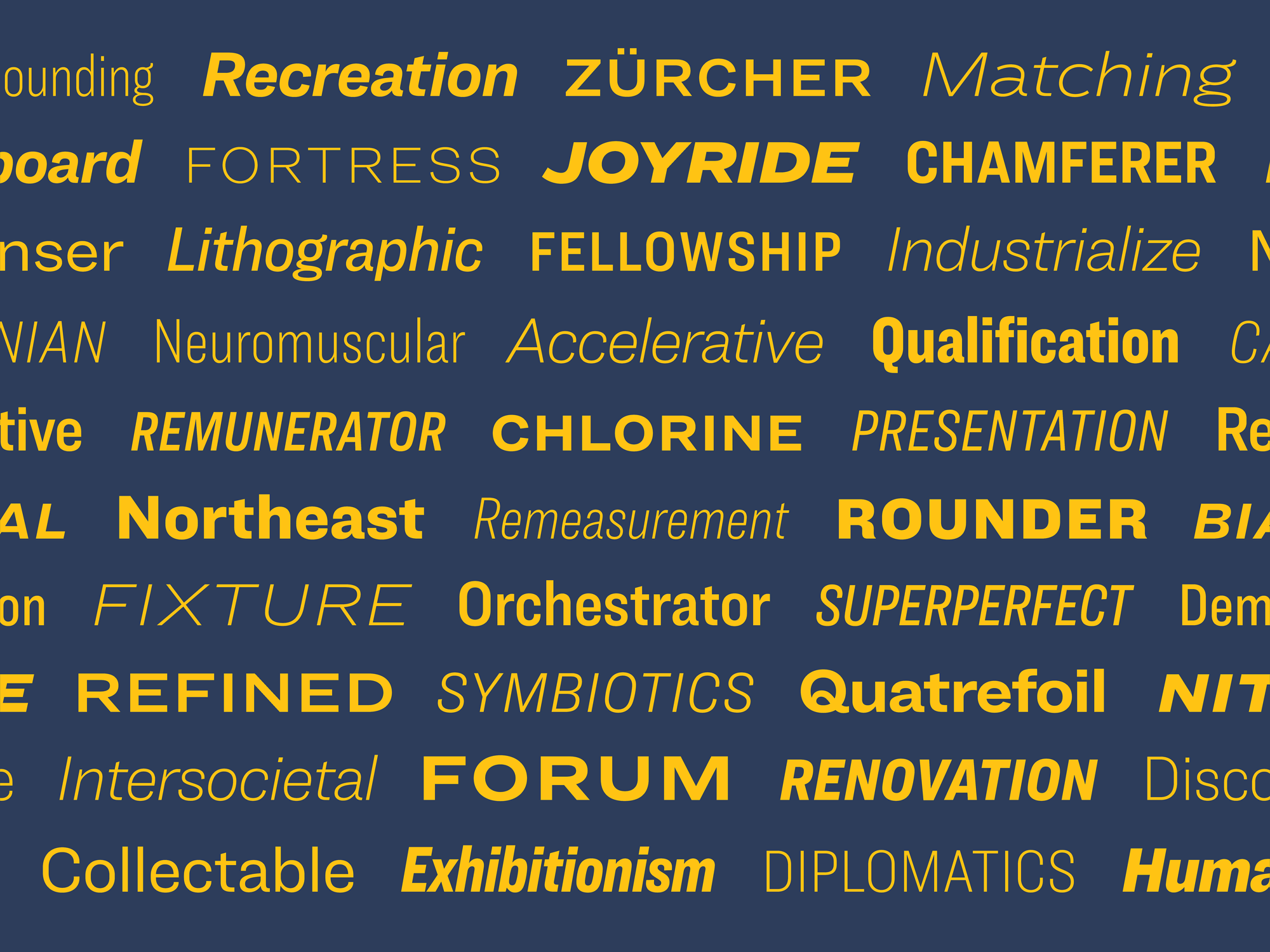 Meet Ringside, a new sans serif from Hoefler & Co.