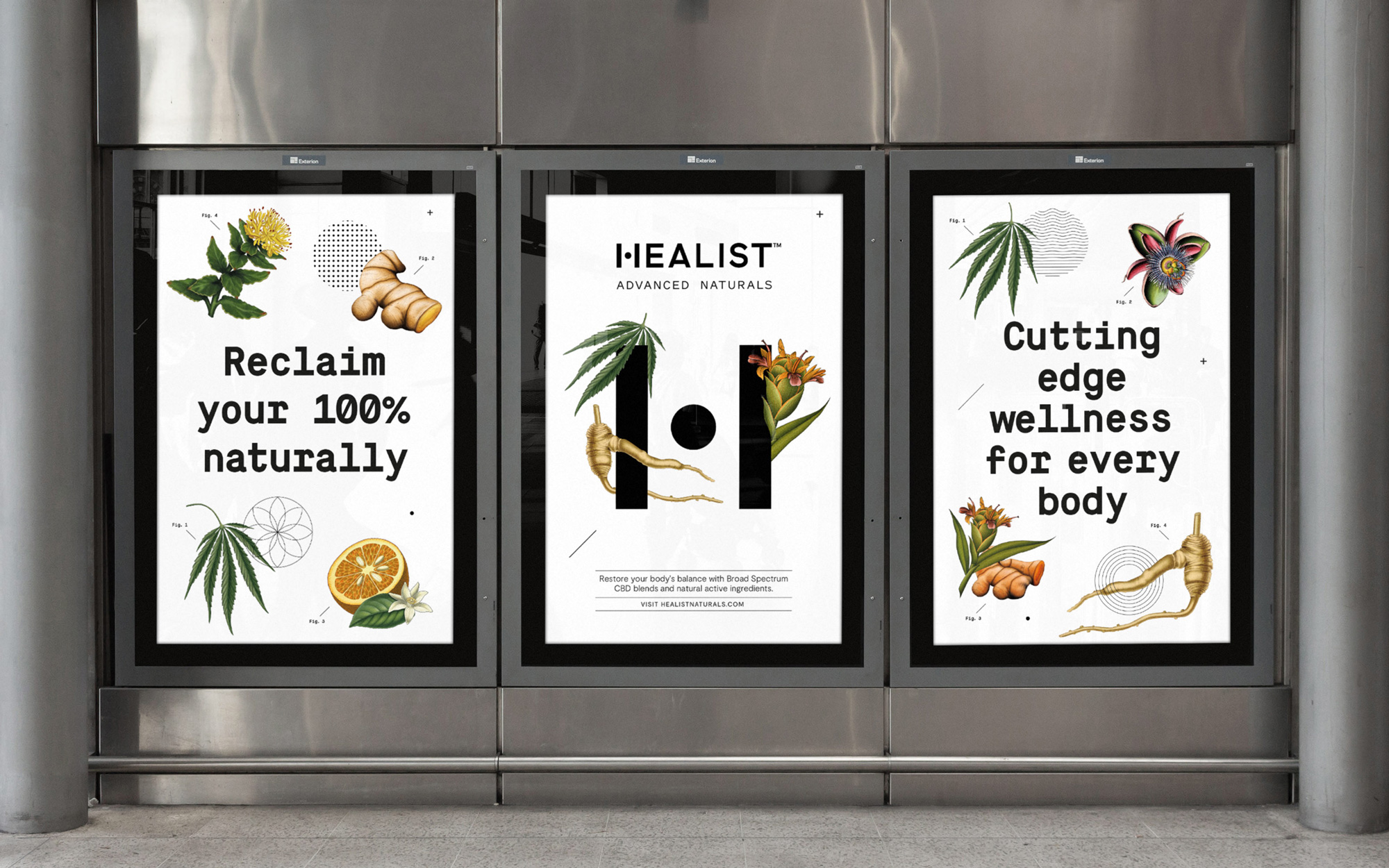 New Logo, Identity, and Packaging for Healist Naturals by Robot Food