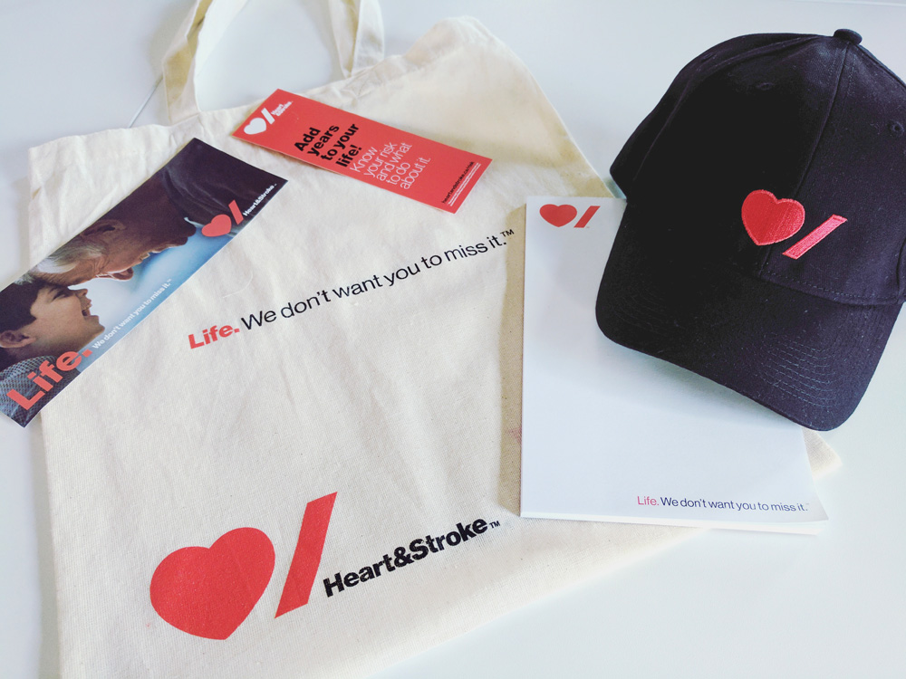 New Logo and Identity for Heart & Stroke by Pentagram