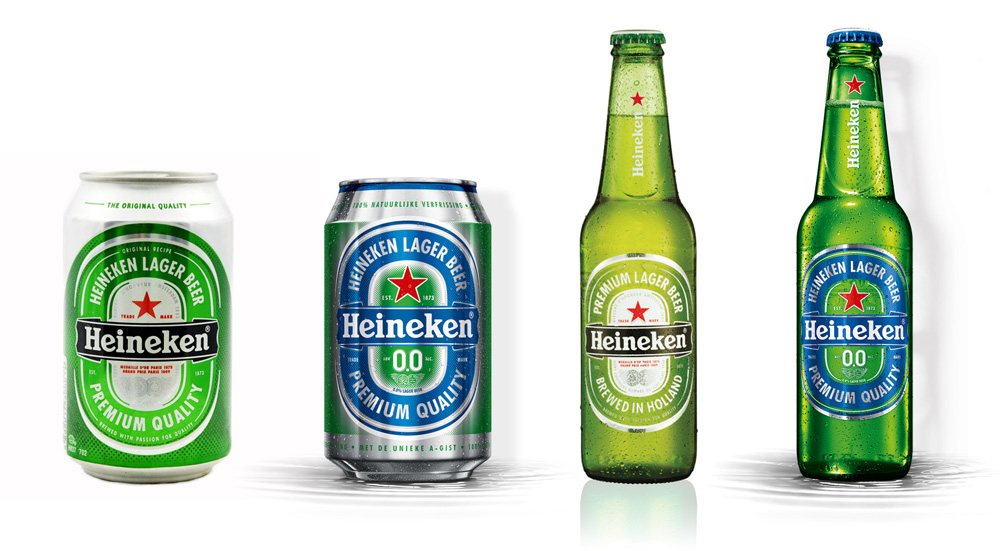 New Packaging for Heineken 0.0 by VBAT