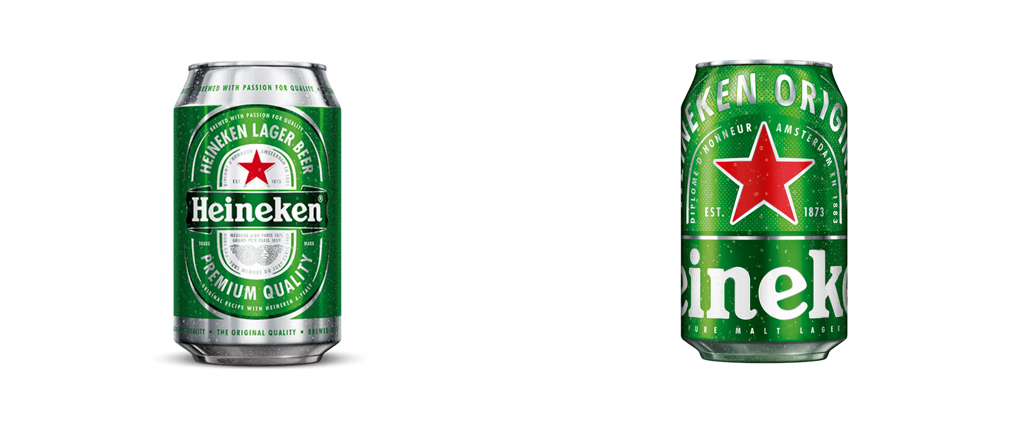 New Cans for Heineken by VBAT