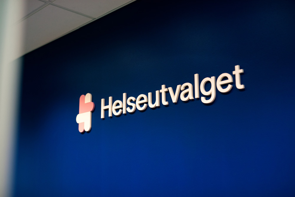 New Logo and Identity for Helseutvalget by Bielke&Yang
