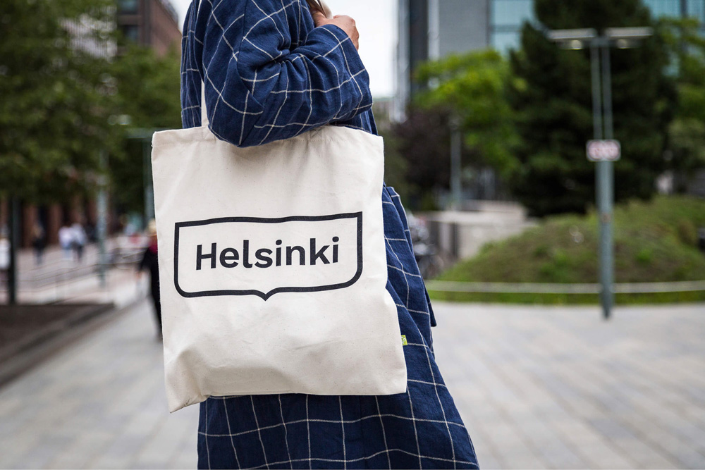 New Logo and Identity for Helsinki by Werklig
