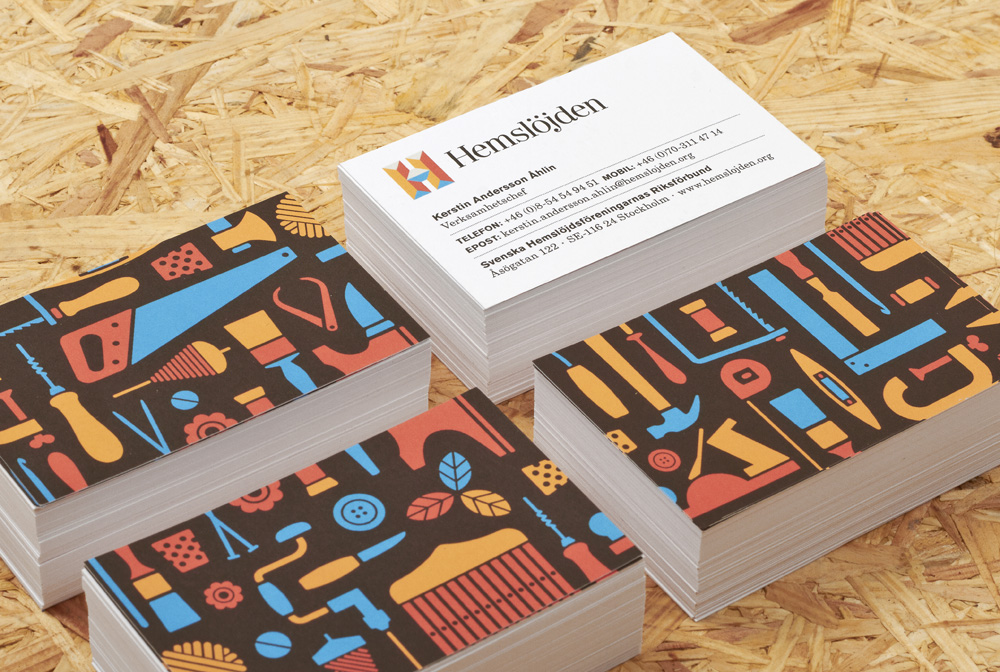 New Logo and Identity for Hemslöjden by Snask