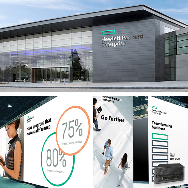 New Logo for Hewlett-Packard Enterprise