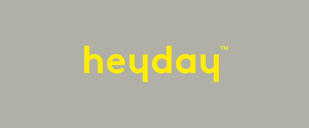 New Logo and Packaging for Heyday by Collins