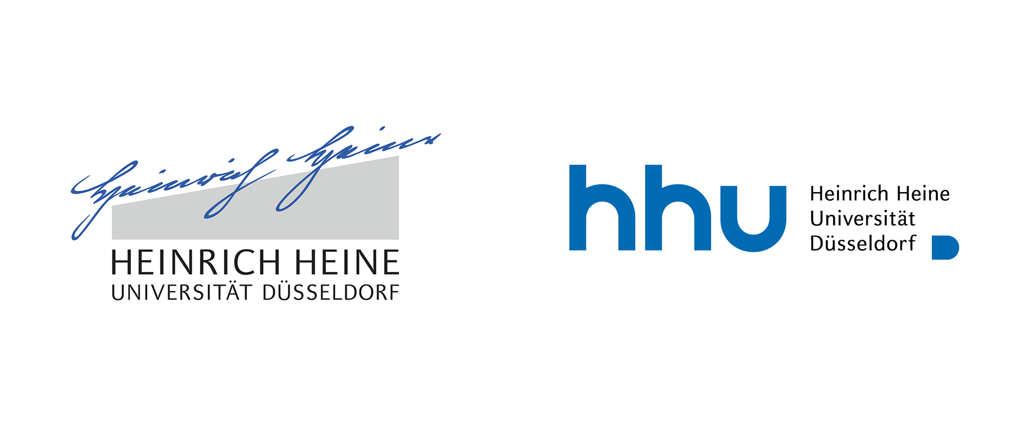New Logo for Heinrich-Heine-University Düsseldorf by Eggert Group