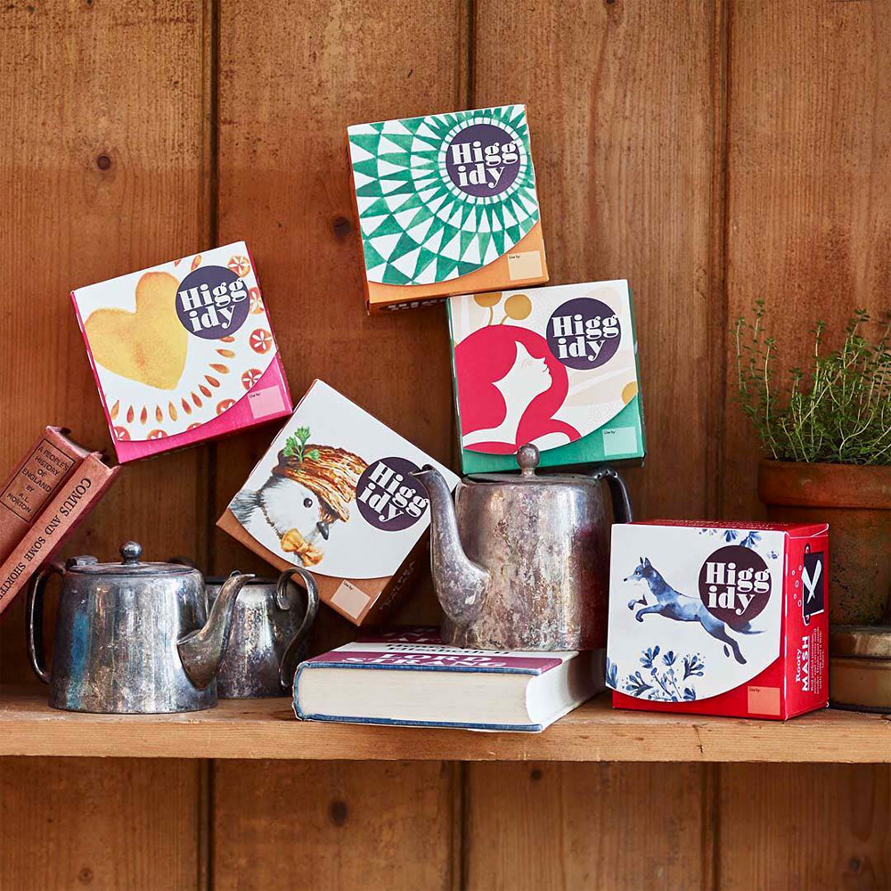 New Logo and Packaging for Higgidy by B&B Studio