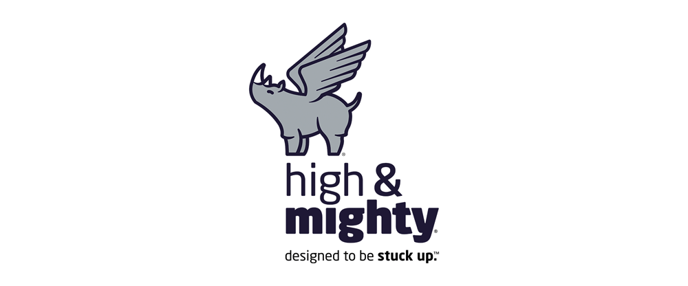 New Logo and Packaging for High & Mighty by Young & Laramore