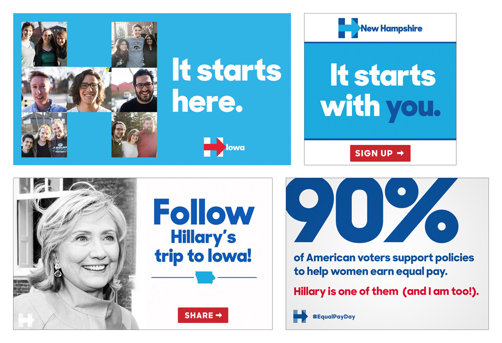 New Logo for Hillary Clinton Presidential Campaign