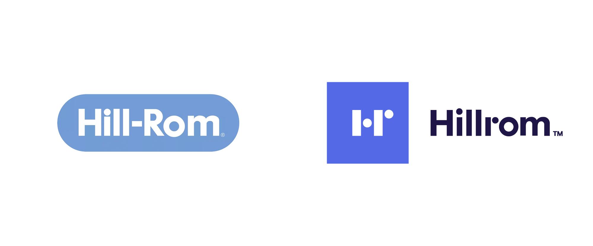 New Logo for Hillrom