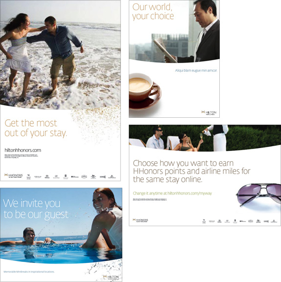 Hilton Worldwide, Print Applications