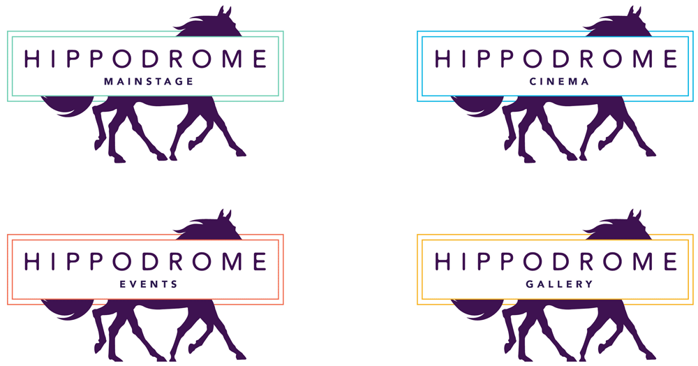 Brand New New Logo And Identity For Hippodrome Theater By 160over90