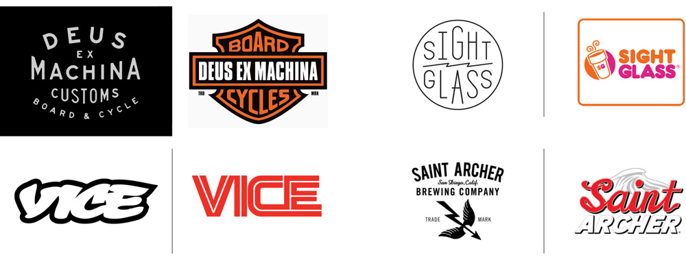 Brand New Hipster Brands With Corporate Logos