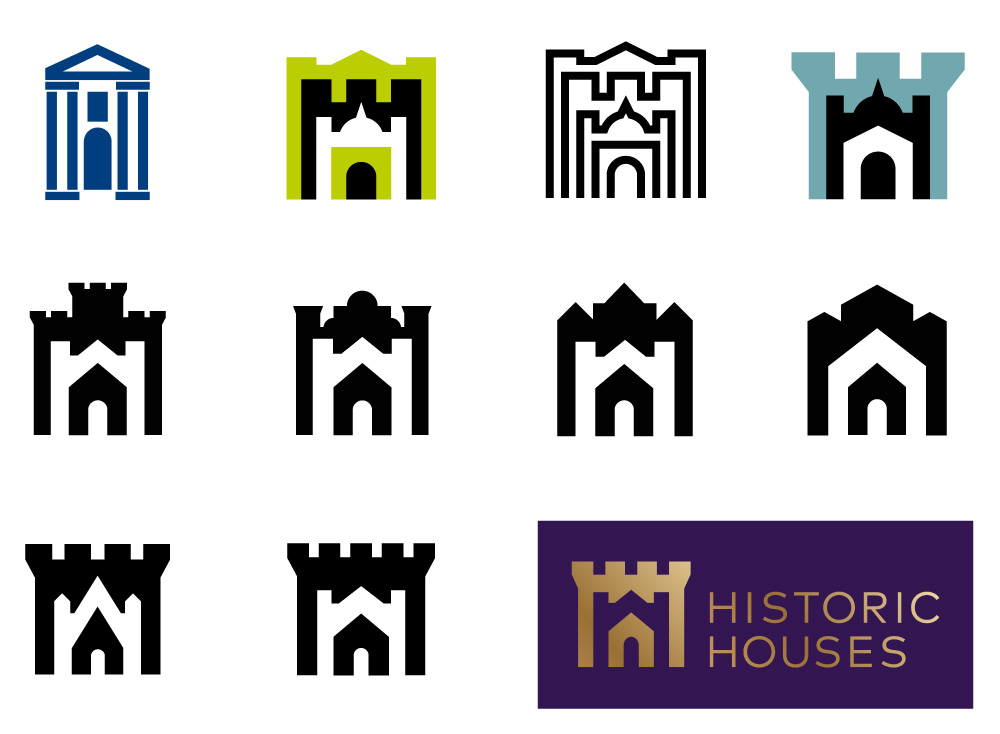 New Logo and Identity for Historic Houses by Johnson Banks
