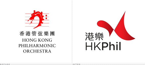 Hong Kong Philharmonic Logo, New