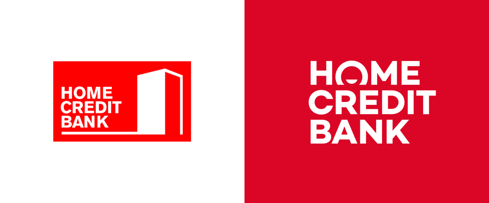 New Logo and Identity for Home Credit Bank by Funky Business