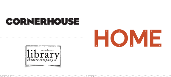 HOME Logo, Before and After