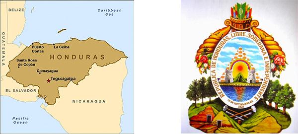New Logo for Honduras by Gerardo Midence