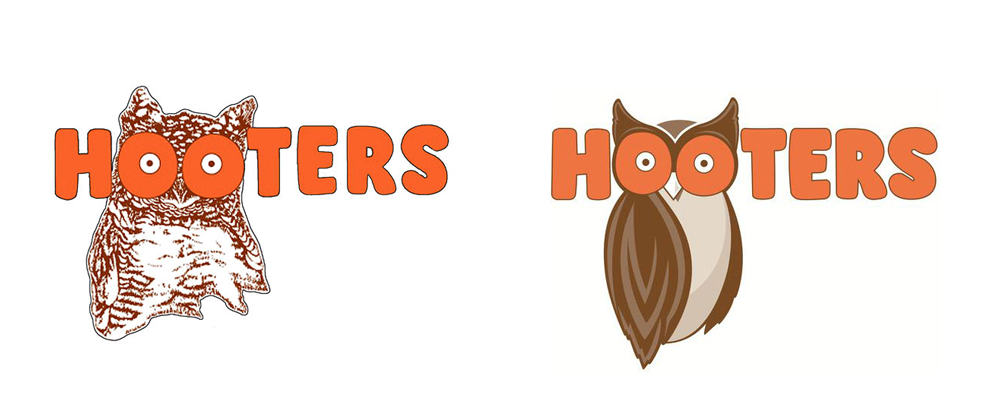 New Logo for Hooters by Sky Design