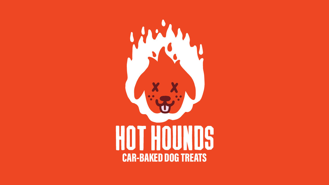 New Logo and Packaging for Hot Hounds by Rethink