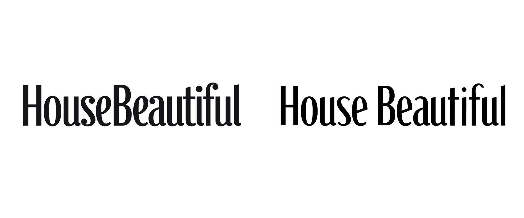 New Logo for House Beautiful done In-house