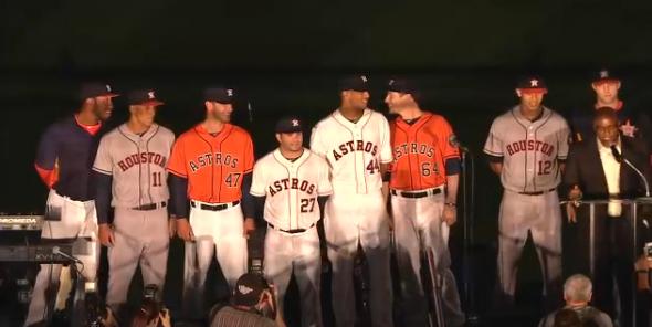 Houston Astros Logo and Uniforms