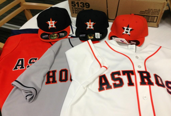 huge selection of 6a239 0aeca Brand New: Houston Astros Looking Stellar