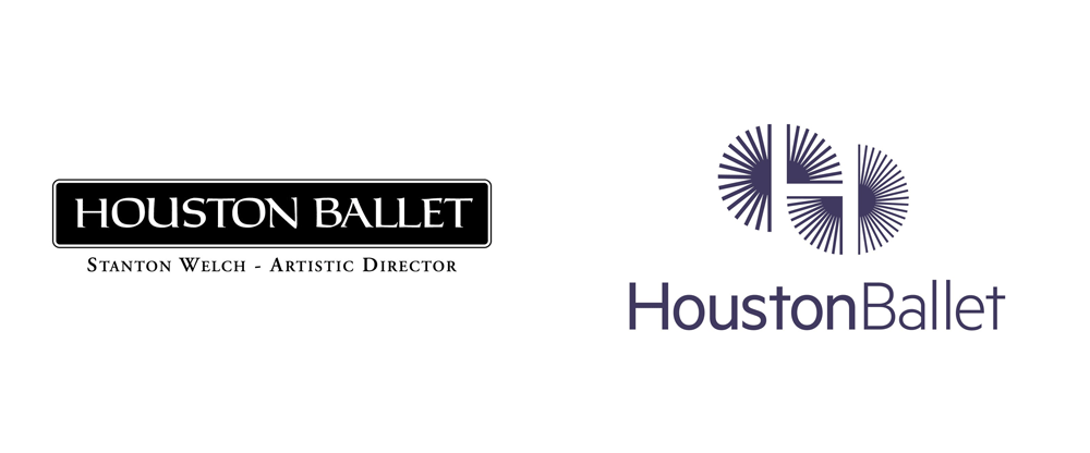 New Logo and Identity for Houston Ballet by Pentagram