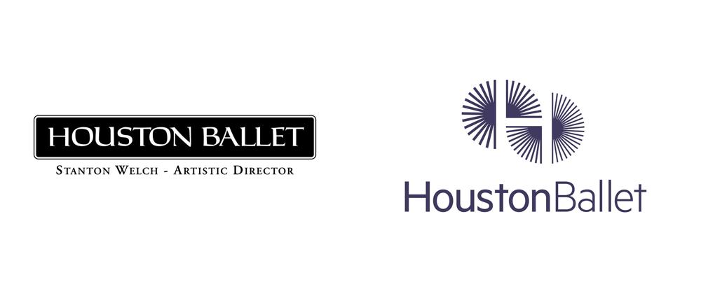 New Logo and Identity for Houston Ballet by Pentagram