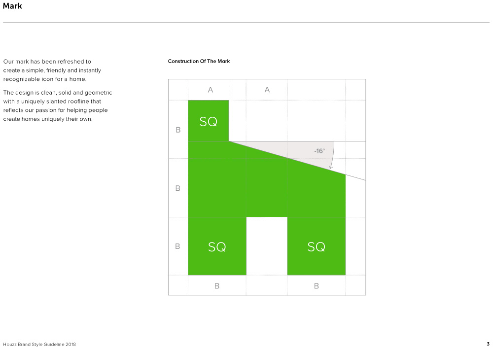 New Logo for Houzz by Pentagram