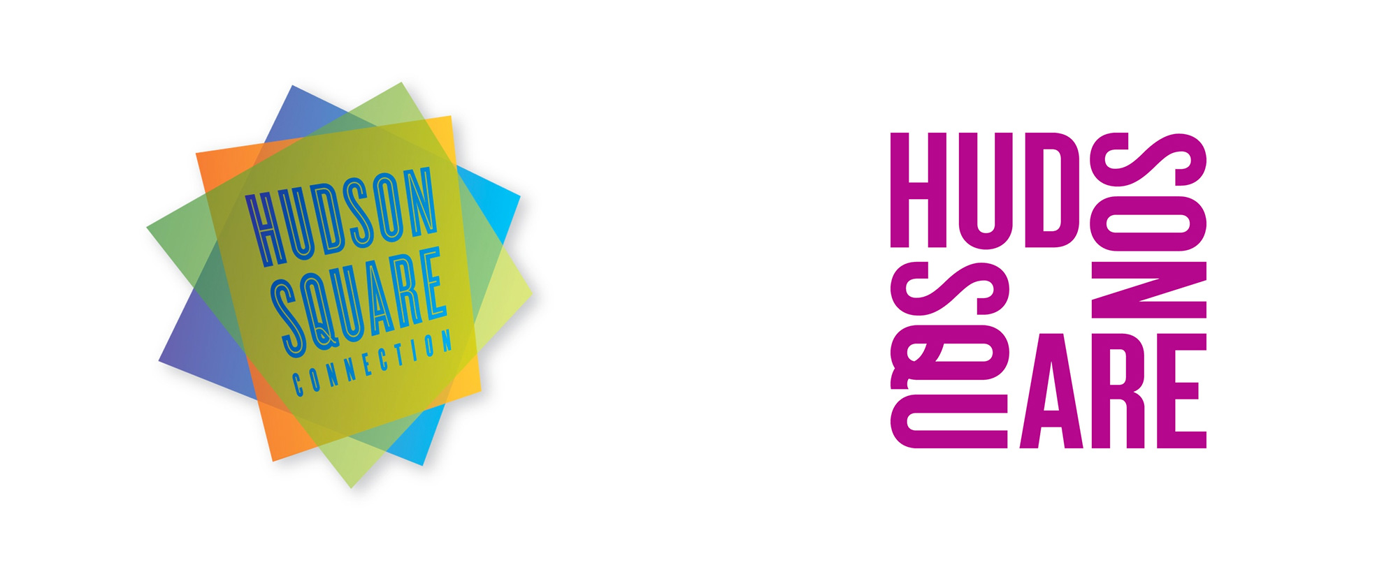 New Logo and Identity for Hudson Square by Applied