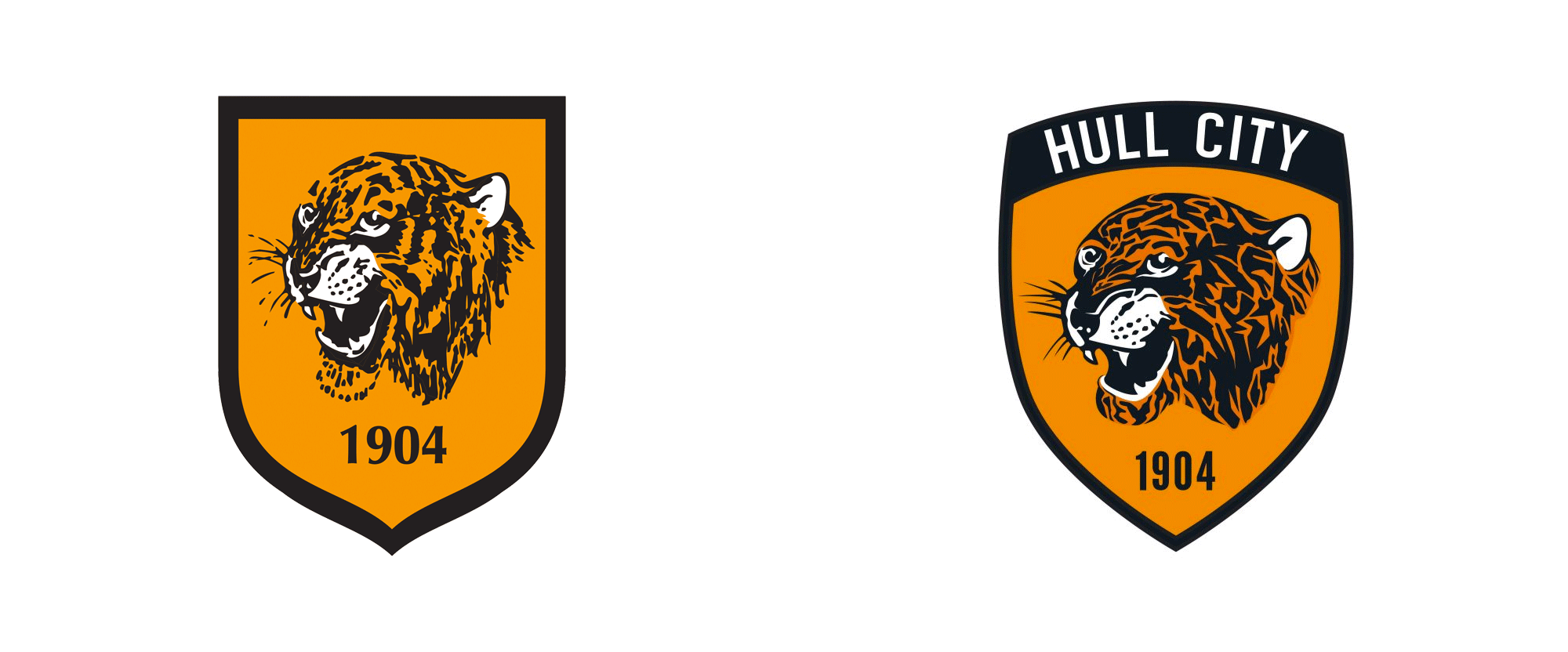 New Logo for Hull City Tigers