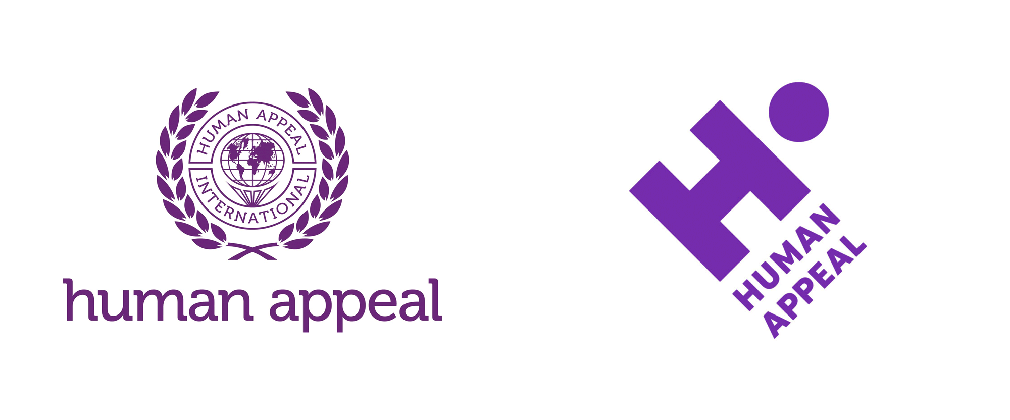 New Logo and Identity for Human Appeal by Johnson Banks