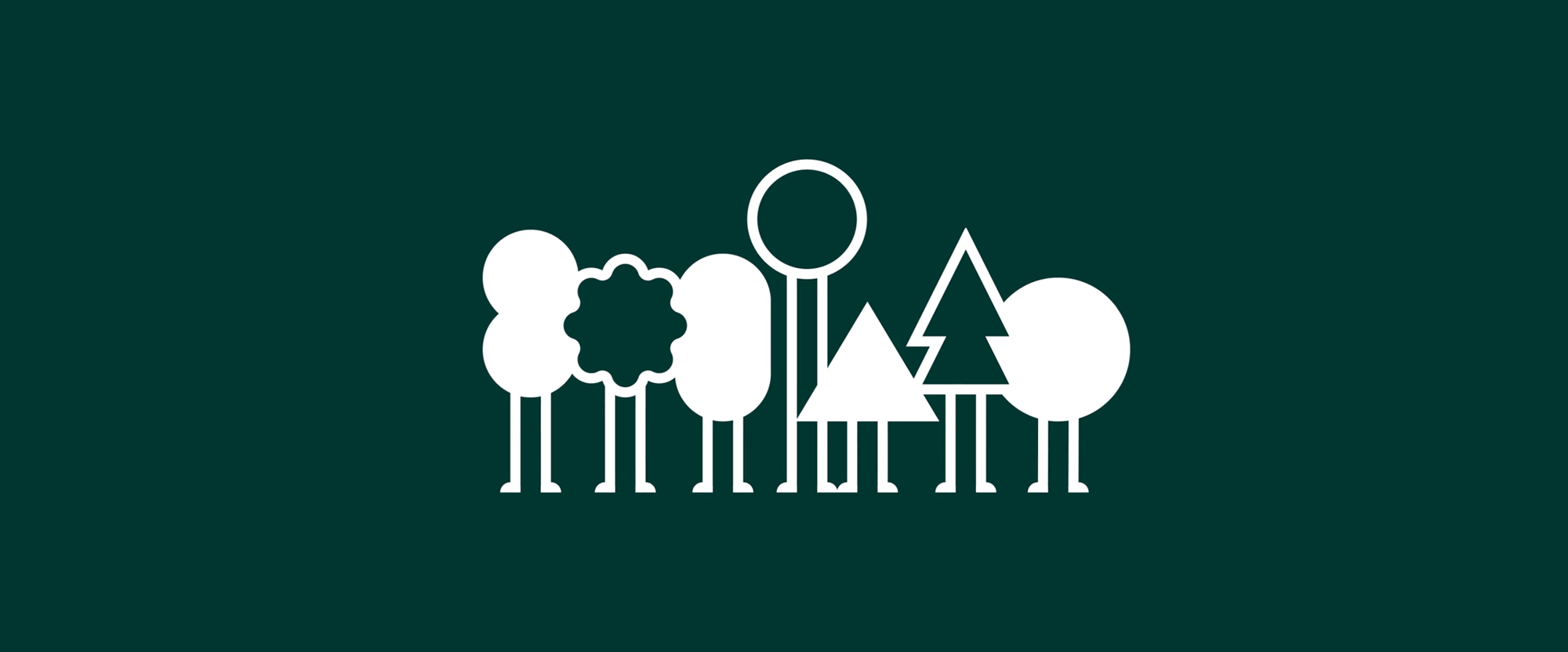 New Logo and Identity for HumanForest by South