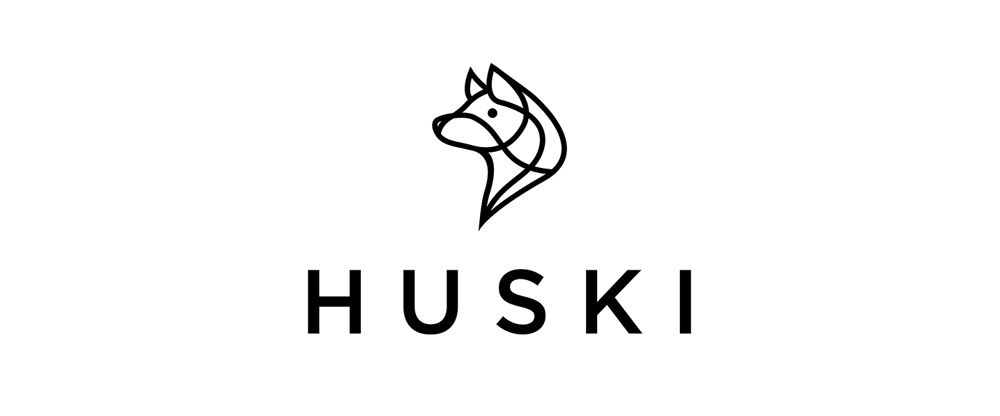 New Logo and Identity for Huski by Stand & Marvel