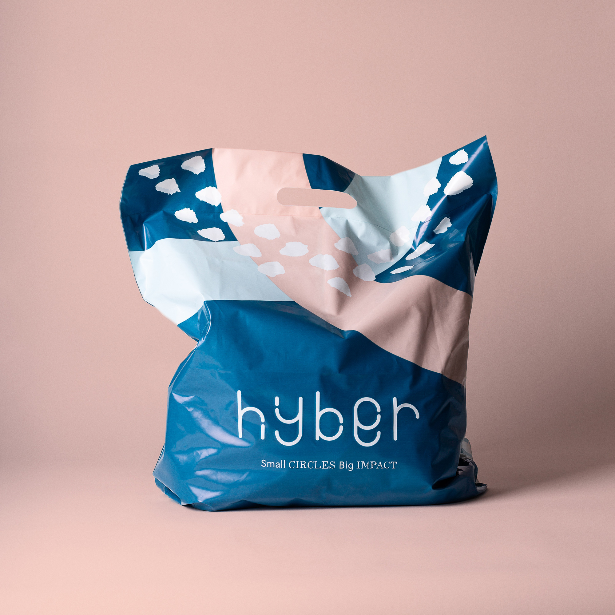 New Logo and Identity for Hyber by Bedow