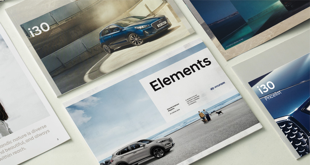 New Global Identity for Hyundai done In-house by Creative Works