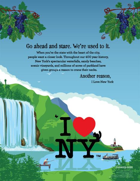I Heart New York Ad