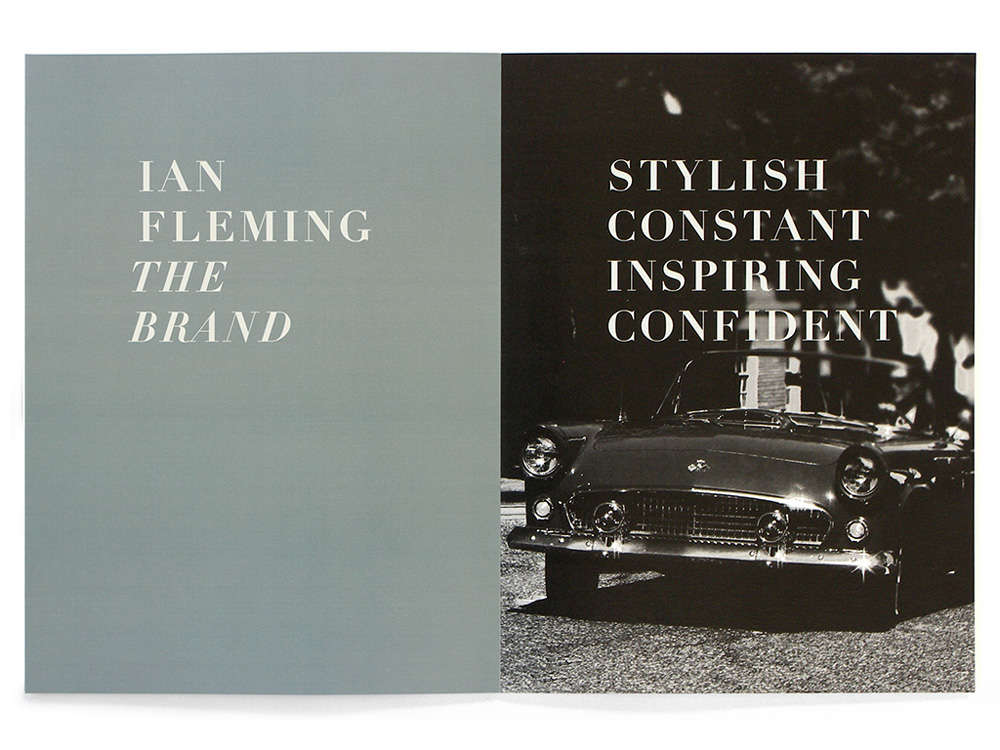 New Logo and Identity for Ian Fleming Publications by Webb & Webb