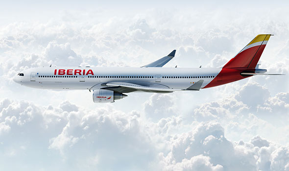 New Logo, Identity, and Livery for Iberia by Interbrand