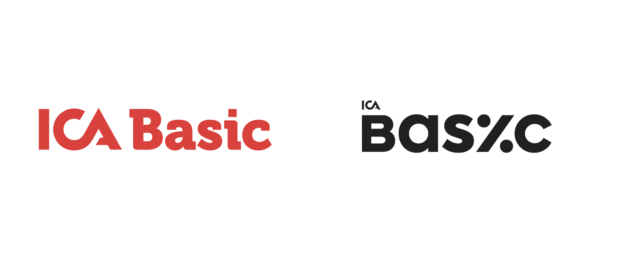 New Logo and Packaging for ICA Basic by Silver